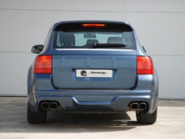 "Rear Wheel Arches Porsche Cayenne ""VENTUS WIDE"" iBherdesign"