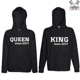 Hoodie King & Queen since