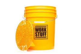 WORK STUFF Detailing Bucket WASH + Grit Guard