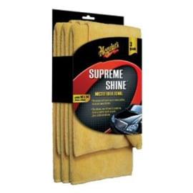 Meguiars Supreme Shine Microfiber 40x60cm, set à 3 stuks
