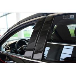 B-Stijl lijsten passend voor Mazda 6 Sedan/Wagon 2013- Zwart Carbon
