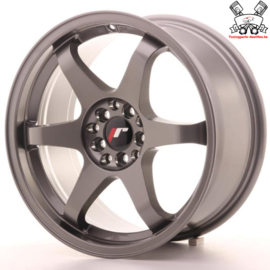 JR-Wheels JR3 Gun Metal 17 Inch 8J ET35 5x100/114.3