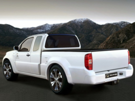 "Side Skirts Nissan Navara D40 ""TANGIER WIDE"" iBherdesign"