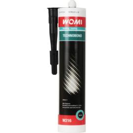 Technobond Womi elastische montagelijm - Zwart - 290ml