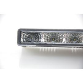 Set Universele Dagrijdlampen (DRL) - 4W Cree LED - 125x24x33mm - incl. E-Keurmerk