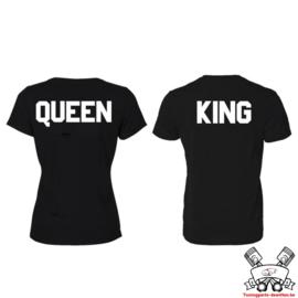T-shirt King & Queen