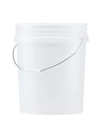Grit Guard Wash Bucket - 19L - White