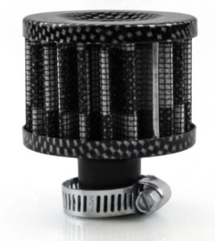 Mini Air Filter Carbon 12mm