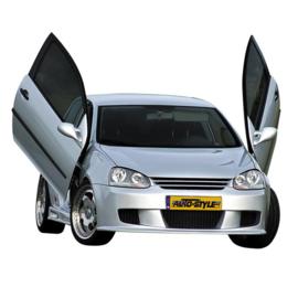 Embleemloze Grill passend voor Volkswagen Golf V 2003-2008 excl. GTi/R32