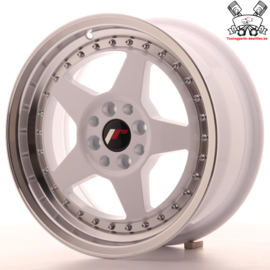 JR-Wheels JR6 White 16 Inch 7J ET35 4x100/114.3