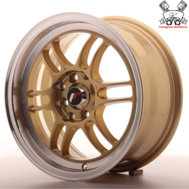 JR-Wheels JR7 Gold 15 Inch 7J ET38 4x100/114.3