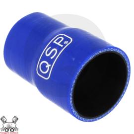 Silicone verloop 57 - 51mm (benzine en olie bestendig)