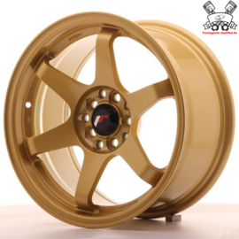 JR-Wheels JR3 Gold 16 Inch 8J ET25 5x100/114.3