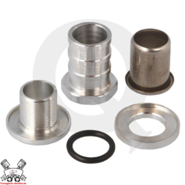 Zelf afsluitbare fitting - 19mm aluminium