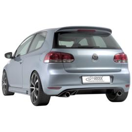 Achterskirt passend voor Volkswagen Golf VI GTi-Look 2008- (PU)
