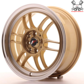 JR-Wheels JR7 Gold 16 Inch 7J ET38 4x100/114.3