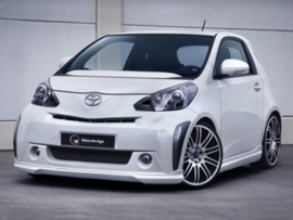 "Front Bumper Spoiler Toyota iQ ""PARTY"" iBherdesign"