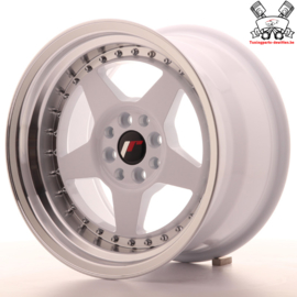 JR-Wheels JR6 White 16 Inch 9J ET20 4x100/108
