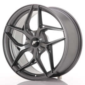 JR-Wheels JR35 Flat Gun Metal