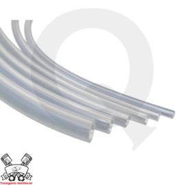 Silicone slang transparant (keuze uit diverse inwendige diameters)