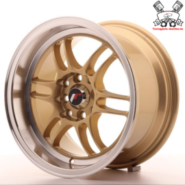 JR-Wheels JR7 Gold 15 Inch 8J ET35 4x100/114.3
