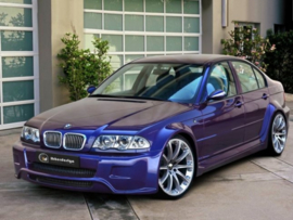 "Front Wheel Arches BMW E46 ""COSMIC WIDE"" iBherdesign"