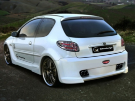 "Rear Wheel Arches Peugeot 206 ""X_ODOS WIDE"" iBherdesign"