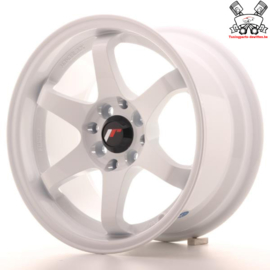 JR-Wheels JR3 White 15 Inch 8J ET25 4x100/114.3