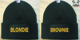 Muts Blondie & Brownie (Goud)