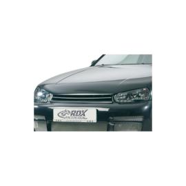 Motorkapverlenger passend voor Volkswagen Golf IV 1997-2004 + geïntegreerd half maantje (Metaal)