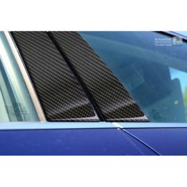 B-Stijl lijsten passend voor Audi A3 8V Sedan 2016- Zwart Carbon