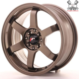 JR-Wheels JR3 Bronze 16 Inch 7J ET40 5x100/108
