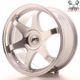 JR-Wheels JR3 Silver Machined 18 Inch 9J ET35-40 Blank