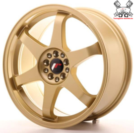 JR-Wheels JR3 Gold 18 Inch 8J ET40 5x100/108