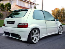 "Rear Bumper Citroen Saxo ""WARRIOR WIDE"" iBherdesign"