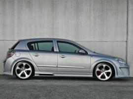 "Side Skirts Opel Astra H ""VIRUSS"" iBherdesign"