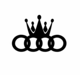 Audi Logo + Kroon