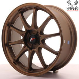 JR-Wheels JR5 Dark Anodize Bronze 18 Inch 8J ET35 5H Blank
