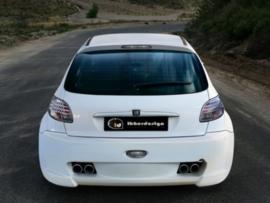 "Rear Bumper Peugeot 206 ""X_ODOS WIDE"" iBherdesign"