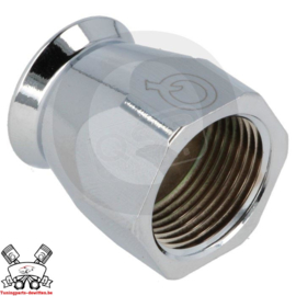 Hoedje PTFE D04 Chrome