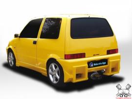 """Rear Bumper Fiat Cinquecento """"SAVAGE"""" iBherdesign"""