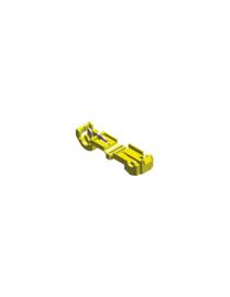Klik-in connector geel
