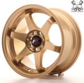 JR-Wheels JR3 Gold 15 Inch 8J ET25 4x100/108