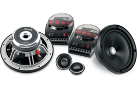 "JL Audio ZR650-Csi Evolution ™ ZR-serie 6-3 / 4 ""componentluidsprekersysteem"