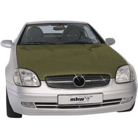 MHW Carbon-Look Motorkapfolie 115x155cm