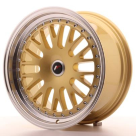 JR-Wheels JR10 Wheels Gold 17 Inch 8J ET35 Blank