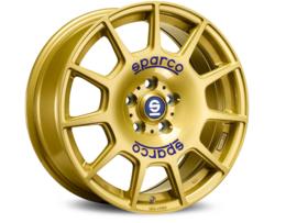 Sparco Terra Wheels Race Gold 17 Inch 7,5J ET48 5x100