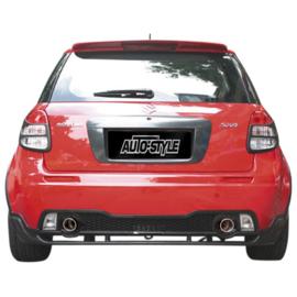 Achterbumper passend voor Suzuki SX4 / Fiat Sedici 2006-
