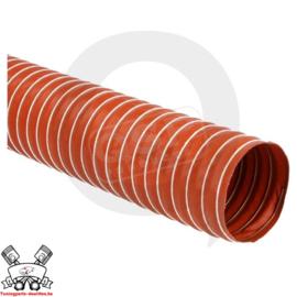 Silicone luchtslang flexibel, 51mm, per meter