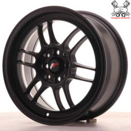 JR-Wheels JR7 Flat Black 16 Inch 7J ET38 4x100/114.3